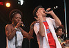 Yaite Ramos (L) and Sergent Garcia perform at the Cisco Ottawa Bluesfest on Thursday, July 9, 2009. The Ottawa Bluesfest is ranked as one of the most successful music events in North America. Patrick Doyle/Ottawa BluesFest/The Canadian Press Images.