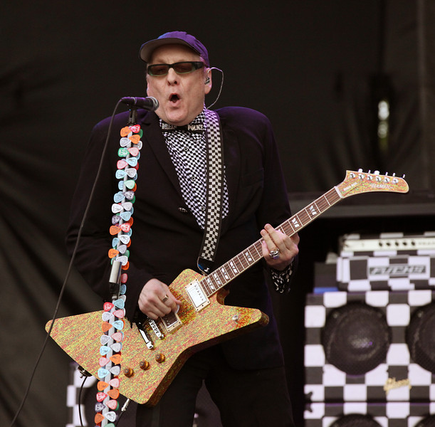 Rick Nielsen of the band Cheap Trick performs at the Cisco Ottawa Bluesfest on Sunday, July 17, 2011. The Ottawa Bluesfest is ranked as one of the most successful music events in North America. The Canadian Press Images PHOTO/Ottawa Bluesfest/Patrick Doyle.