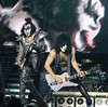 (L to R) Gene Simmons and Paul Stanley of the band KISS seen here perfoming at Cisco Ottawa Bluesfest on Wednesday, July 15, 2009. The Ottawa Bluesfest is ranked as one of the most successful music events in North America. Patrick Doyle/Ottawa BluesFest/The Canadian Press Images.