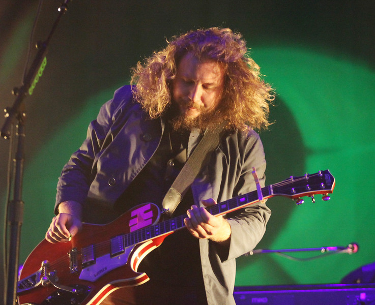 Jim James of the band My Morning Jacket performs at the Cisco Ottawa Bluesfest on Wednesday, July 13, 2011. The Ottawa Bluesfest is ranked as one of the most successful music events in North America. The Canadian Press Images PHOTO/Ottawa Bluesfest/Patrick Doyle.