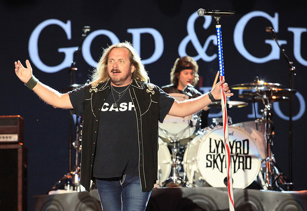 Johnny Van Zant is seen here performing with the band Lynyrd Skynyrd at the Cisco Ottawa Bluesfest on Saturday, July 18, 2009. The Ottawa Bluesfest is ranked as one of the most successful music events in North America. Patrick Doyle/Ottawa BluesFest/The Canadian Press Images.