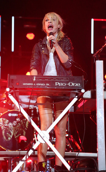 Emily Haines of Metric is seen here performing at the RBC Royal Bank Bluesfest in Ottawa on Sunday, July 15, 2012. The Ottawa Bluesfest is ranked as one of the most successful music events in North America. The Canadian Press Images PHOTO/Ottawa Bluesfest/Patrick Doyle.