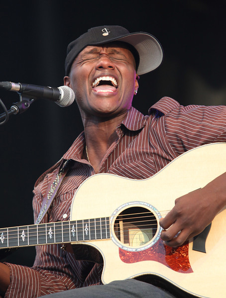 "Javier Colon, winner of the NBC reality talent show ""The Voice,"" performs at the Cisco Ottawa Bluesfest on Tuesday, July 5, 2011. The Ottawa Bluesfest is ranked as one of the most successful music events in North America. The Canadian Press Images PHOTO/Ottawa Bluesfest/Patrick Doyle."