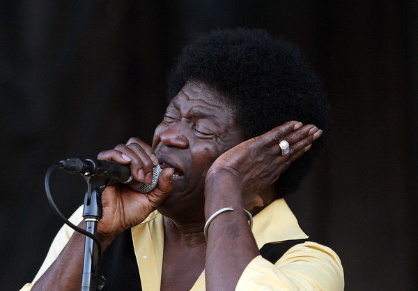 Charles Bradley and his Extraordinaires are seen here performing at the RBC Royal Bank Bluesfest in Ottawa on Thursday, July 5, 2012. The Ottawa Bluesfest is ranked as one of the most successful music events in North America. The Canadian Press Images PHOTO/Ottawa Bluesfest/Patrick Doyle.