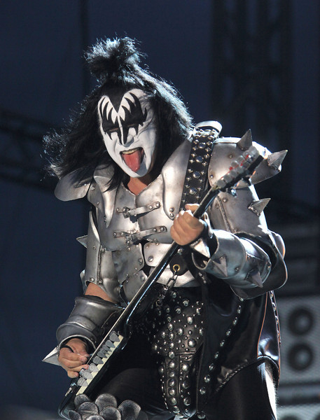Gene Simmons of the band KISS seen here perfoming at Cisco Ottawa Bluesfest on Wednesday, July 15, 2009. The Ottawa Bluesfest is ranked as one of the most successful music events in North America. Patrick Doyle/Ottawa BluesFest/The Canadian Press Images.