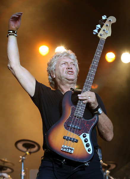John Lodge of the band The Moody Blues performs at the Cisco Ottawa Bluesfest on Thursday, July 8, 2010. The Ottawa Bluesfest is ranked as one of the most successful music events in North America. The Canadian Press Images PHOTO/Ottawa Bluesfest/Patrick Doyle.