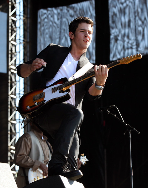 Nick Jonas performs at the Cisco Ottawa Bluesfest on Saturday, July 16, 2011. The Ottawa Bluesfest is ranked as one of the most successful music events in North America. The Canadian Press Images PHOTO/Ottawa Bluesfest/Patrick Doyle.
