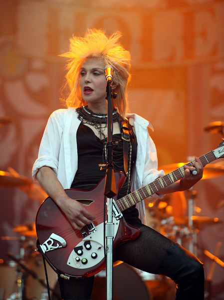 Courtney Love of the band Hole performs at the Cisco Ottawa Bluesfest on Friday, July 9, 2010. The Ottawa Bluesfest is ranked as one of the most successful music events in North America. The Canadian Press Images PHOTO/Ottawa Bluesfest/Patrick Doyle.