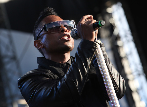 Miguel performs at the Cisco Ottawa Bluesfest on Wednesday, July 13, 2011. The Ottawa Bluesfest is ranked as one of the most successful music events in North America. The Canadian Press Images PHOTO/Ottawa Bluesfest/Patrick Doyle.