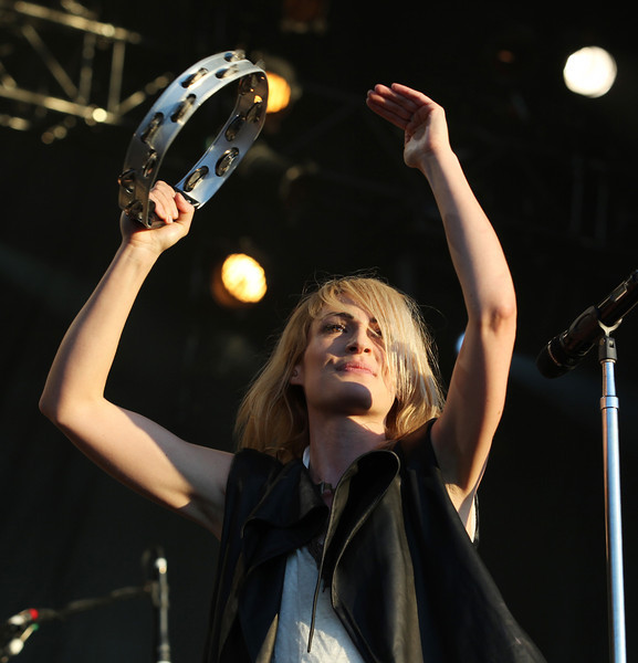 Emily Haines of the band Metric performs at the Cisco Ottawa Bluesfest on Wednesday, July 13, 2011. The Ottawa Bluesfest is ranked as one of the most successful music events in North America. The Canadian Press Images PHOTO/Ottawa Bluesfest/Patrick Doyle.