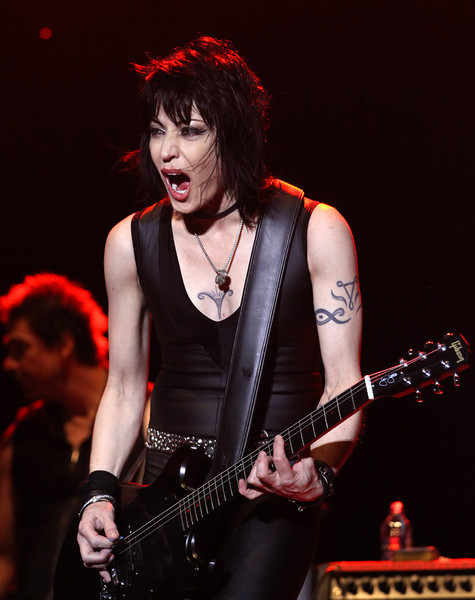 Joan Jett and the Blackhearts perform at the Cisco Ottawa Bluesfest on Friday, July 9, 2010. The Ottawa Bluesfest is ranked as one of the most successful music events in North America. The Canadian Press Images PHOTO/Ottawa Bluesfest/Patrick Doyle.