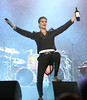 Perry Farrell of the band Jane's Addiction performs at the Cisco Ottawa Bluesfest on Saturday, July 16, 2011. The Ottawa Bluesfest is ranked as one of the most successful music events in North America. The Canadian Press Images PHOTO/Ottawa Bluesfest/Patrick Doyle.