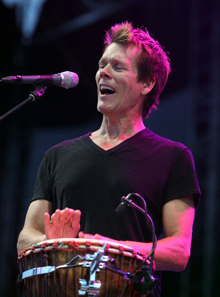 Kevin Bacon of the band The Bacon Brothers performs at the Cisco Ottawa Bluesfest on Thursday, July 8, 2010. The Ottawa Bluesfest is ranked as one of the most successful music events in North America. The Canadian Press Images PHOTO/Ottawa Bluesfest/Patrick Doyle.