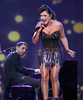 Alyssa Reid performs at the 41st Juno Awards in Ottawa April 1, 2012. Photo by Patrick Doyle.