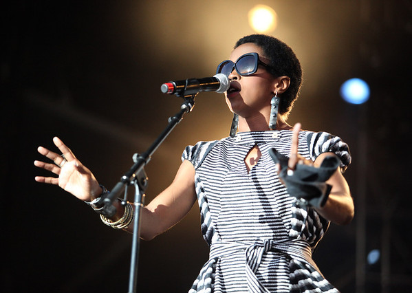 Lauryn Hill is seen here performing at the RBC Royal Bank Bluesfest in Ottawa on Tuesday, July 10, 2012. The Ottawa Bluesfest is ranked as one of the most successful music events in North America. The Canadian Press Images PHOTO/Ottawa Bluesfest/Patrick Doyle.