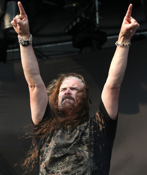 James LaBrie, lead singer of the band Dream Theater, performs at the Cisco Ottawa Bluesfest on Tuesday, July 6, 2010. The Ottawa Bluesfest is ranked as one of the most successful music events in North America. The Canadian Press Images PHOTO/Ottawa Bluesfest/Patrick Doyle.