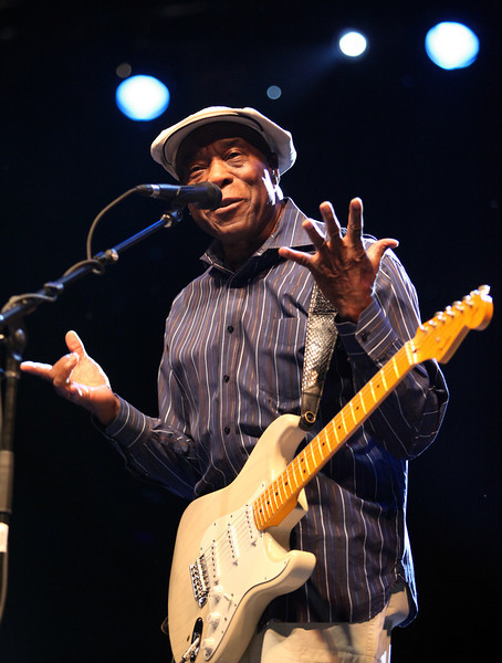 Buddy Guy performs at the Cisco Ottawa Bluesfest on Wednesday, July 13, 2011. The Ottawa Bluesfest is ranked as one of the most successful music events in North America. The Canadian Press Images PHOTO/Ottawa Bluesfest/Patrick Doyle.