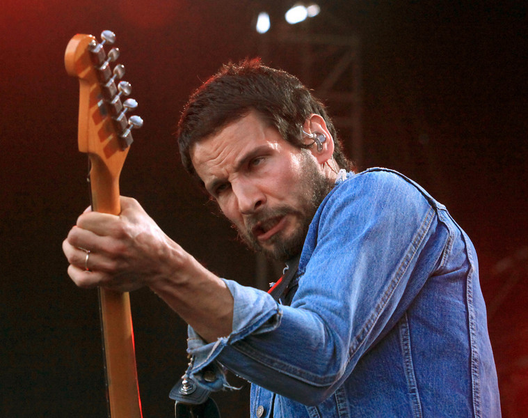 Sam Roberts performs at the Cisco Ottawa Bluesfest on Friday, July 10, 2009. The Ottawa Bluesfest is ranked as one of the most successful music events in North America. Patrick Doyle/Ottawa BluesFest/The Canadian Press Images.