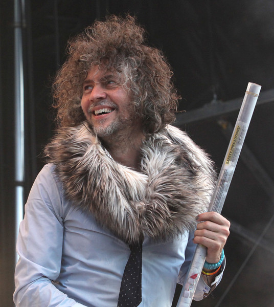 Wayne Coyne of the band The Flaming Lips performs at the Cisco Ottawa Bluesfest on Tuesday, July 5, 2011. The Ottawa Bluesfest is ranked as one of the most successful music events in North America. The Canadian Press Images PHOTO/Ottawa Bluesfest/Patrick Doyle.