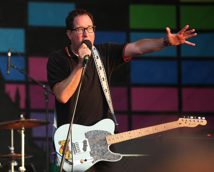 Craig Finn of the band The Hold Steady is seen here performing at the RBC Royal Bank Bluesfest in Ottawa on Thursday, July 12, 2012. The Ottawa Bluesfest is ranked as one of the most successful music events in North America. The Canadian Press Images PHOTO/Ottawa Bluesfest/Patrick Doyle.