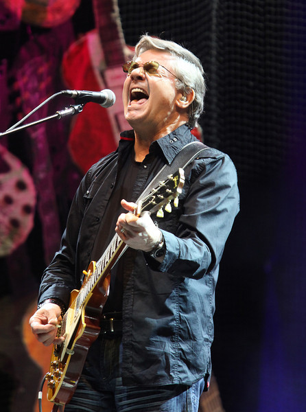 Steve Miller of The Steve Miller Band performs at the Cisco Ottawa Bluesfest on Thursday, July 7, 2011. The Ottawa Bluesfest is ranked as one of the most successful music events in North America. The Canadian Press Images PHOTO/Ottawa Bluesfest/Patrick Doyle.