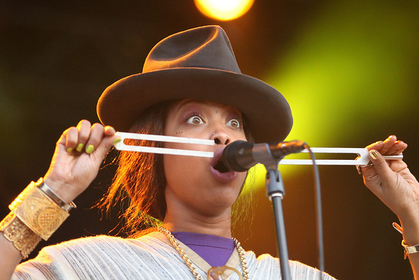 Erykah Badu performs at the Cisco Ottawa Bluesfest on Saturday, July 9, 2011. The Ottawa Bluesfest is ranked as one of the most successful music events in North America. The Canadian Press Images PHOTO/Ottawa Bluesfest/Patrick Doyle.