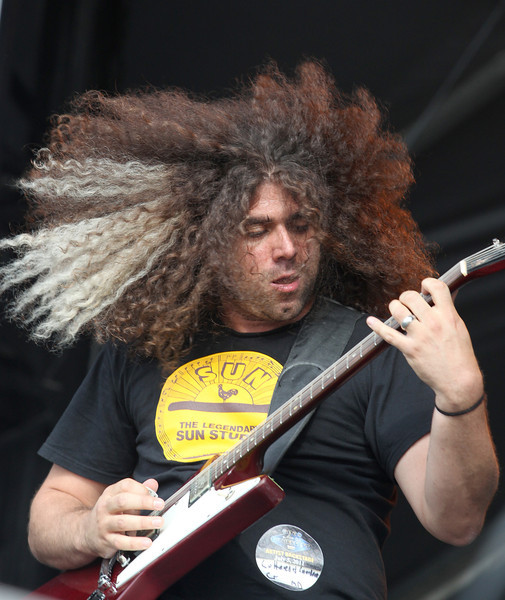 Claudio Sanchez of the band Coheed and Cambria performs at the Cisco Ottawa Bluesfest on Tuesday, July 5, 2011. The Ottawa Bluesfest is ranked as one of the most successful music events in North America. The Canadian Press Images PHOTO/Ottawa Bluesfest/Patrick Doyle.