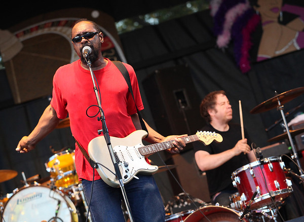 Mick Collins of the band The Dirtbombs performs at the Cisco Ottawa Bluesfest on Wednesday, July 13, 2011. The Ottawa Bluesfest is ranked as one of the most successful music events in North America. The Canadian Press Images PHOTO/Ottawa Bluesfest/Patrick Doyle.