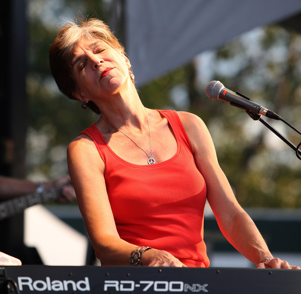 Marcia Ball is seen here performing at the RBC Royal Bank Bluesfest in Ottawa on Saturday, July 7, 2012. The Ottawa Bluesfest is ranked as one of the most successful music events in North America. The Canadian Press Images PHOTO/Ottawa Bluesfest/Patrick Doyle.