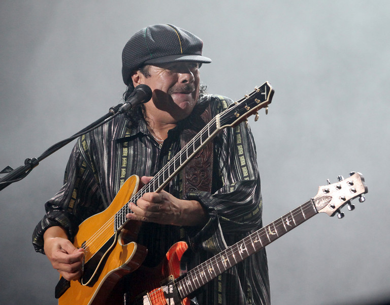 Santana performs at the Cisco Ottawa Bluesfest on Wednesday, July 14, 2010. The Ottawa Bluesfest is ranked as one of the most successful music events in North America. The Canadian Press Images PHOTO/Ottawa Bluesfest/Patrick Doyle.