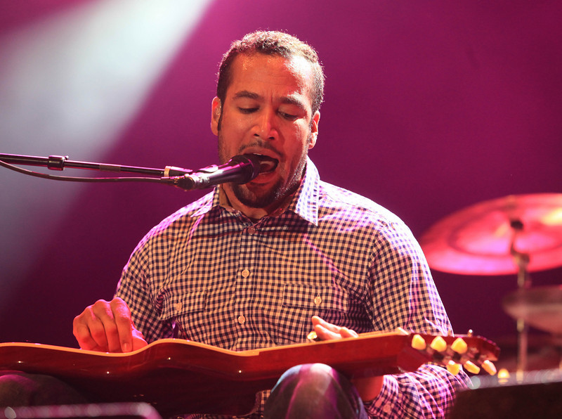 Ben Harper and the Relentless 7 perform at the Cisco Ottawa Bluesfest on Thursday, July 9, 2009. The Ottawa Bluesfest is ranked as one of the most successful music events in North America. Patrick Doyle/Ottawa BluesFest/The Canadian Press Images.