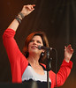 Margo Timmins of the band Cowboy Junkies is seen here performing at the RBC Royal Bank Bluesfest in Ottawa on Thursday, July 12, 2012. The Ottawa Bluesfest is ranked as one of the most successful music events in North America. The Canadian Press Images PHOTO/Ottawa Bluesfest/Patrick Doyle.