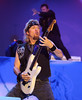 Guitarist Adrian Smith and singer Bruce Dickinson of the band Iron Maiden are seen here performing at the RBC Royal Bank Bluesfest in Ottawa on Saturday, July 7, 2012. The Ottawa Bluesfest is ranked as one of the most successful music events in North America. The Canadian Press Images PHOTO/Ottawa Bluesfest/Patrick Doyle.