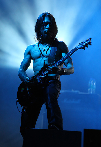 Dave Navarro of the band Jane's Addiction performs at the Cisco Ottawa Bluesfest on Saturday, July 16, 2011. The Ottawa Bluesfest is ranked as one of the most successful music events in North America. The Canadian Press Images PHOTO/Ottawa Bluesfest/Patrick Doyle.