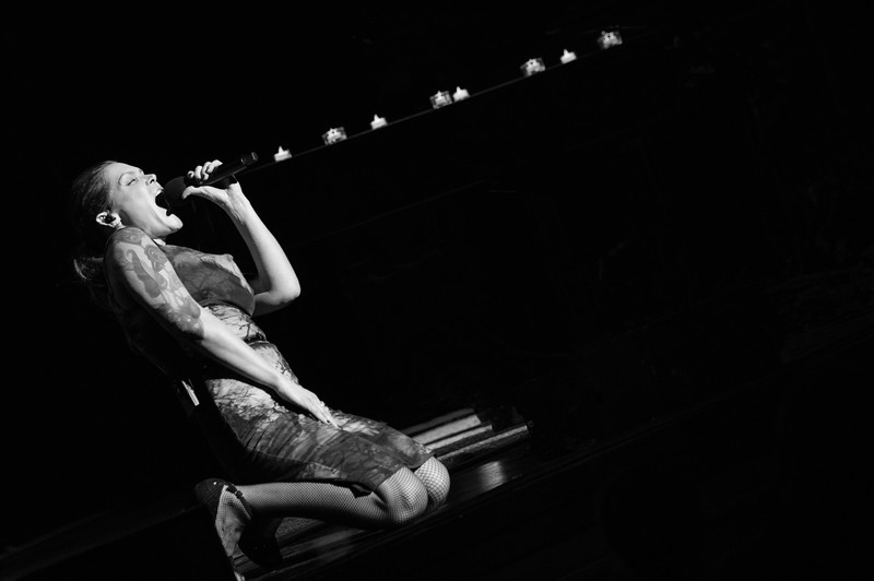 Beth Hart perfoms live at Balboa Theatre in San Diego, California on Sunday, Feb. 18, 2018.