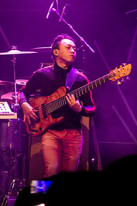 Outstanding performance by House of Waters bassist @moto_fukushima at the Roxian Theatre, McKees Rocks PA, Wednesday May 15th 2019.   @houseofwaters @roxiantheatrepgh @roxianlivepgh #roxiantheatre #roxian #houseofwaters #music #jazz #pittsburgh #pittsburghmuscic