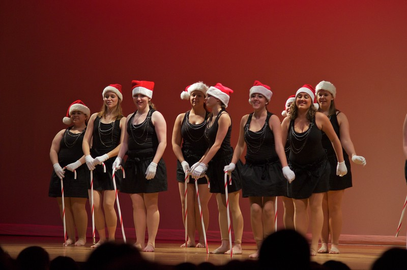 Fitchburg Dance Club, December Performance