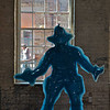 Blue Cowboy #3 by Yoram Wolberger