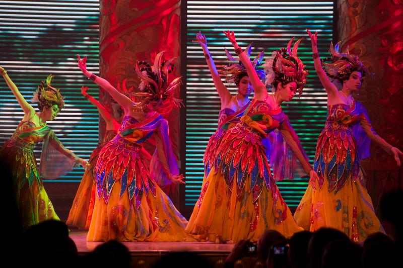 Rainbow Costume Dance