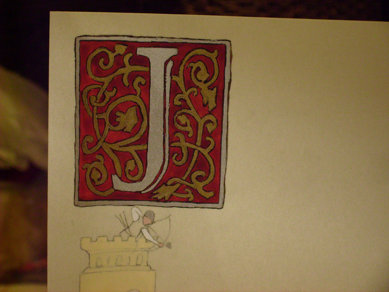 Finished inital letter on Jacob's AOA