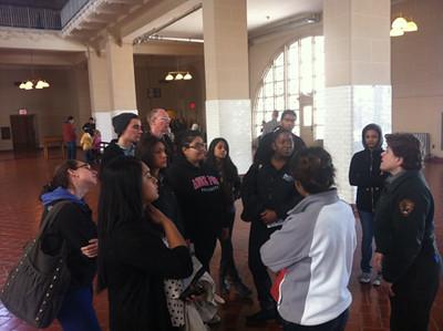 LGS visits Ellis Island