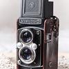 Yashica D camera
