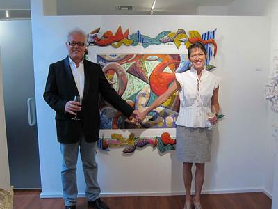 John Carroll  Long's Art Exhibit