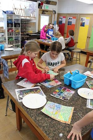 LS 3rd Grade Art Class 2-15-17