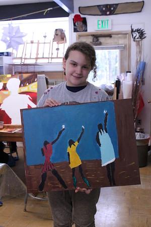 LS 5th Grade Art Class 2-21-17