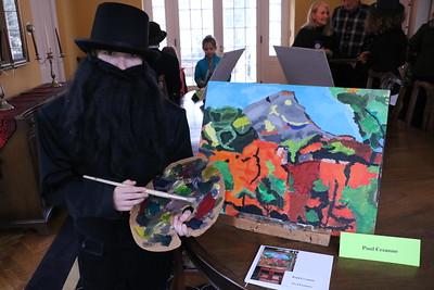 LS 5th Grade Living Artists 4-13-17