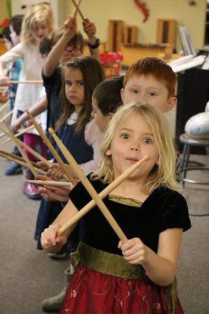 LS K Music Class 3-21-18