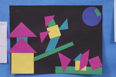 MS 6th Art Shapes 10-2-17