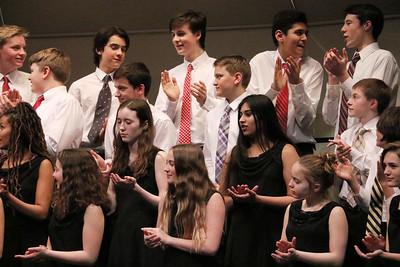 MS 7th-8th Choir at Spring Concert 3-13-18