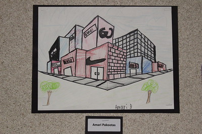 MS 7th Perspective Art 11-3-17